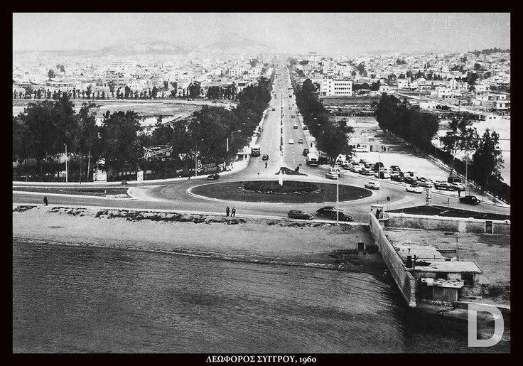 Φαληρικό Δέλτα ......αριστερά ο ιππόδρομος....1960