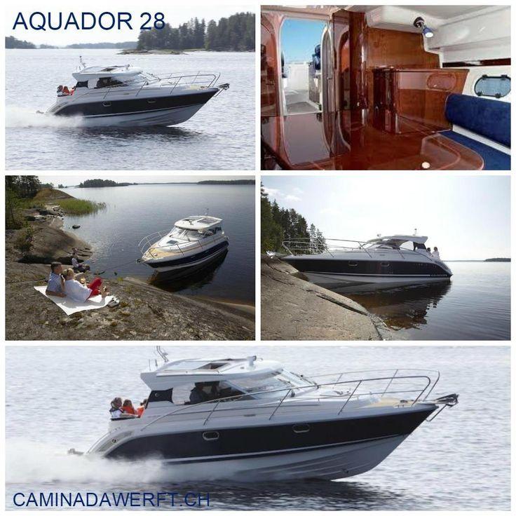 Aquador 28 _______ Weitere Technische Daten bei www.CaminadaWerft.ch Oder…
