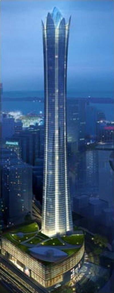 Burj Al Alam Tower, Dubai, UAE by Nikken Sekkei Architecture :: 108 floors, height 510m