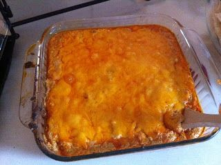 Baked Hot Wing Dip