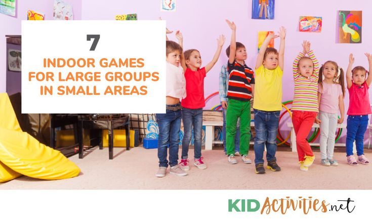 7 Indoor Games for Large Groups in Small Areas Large