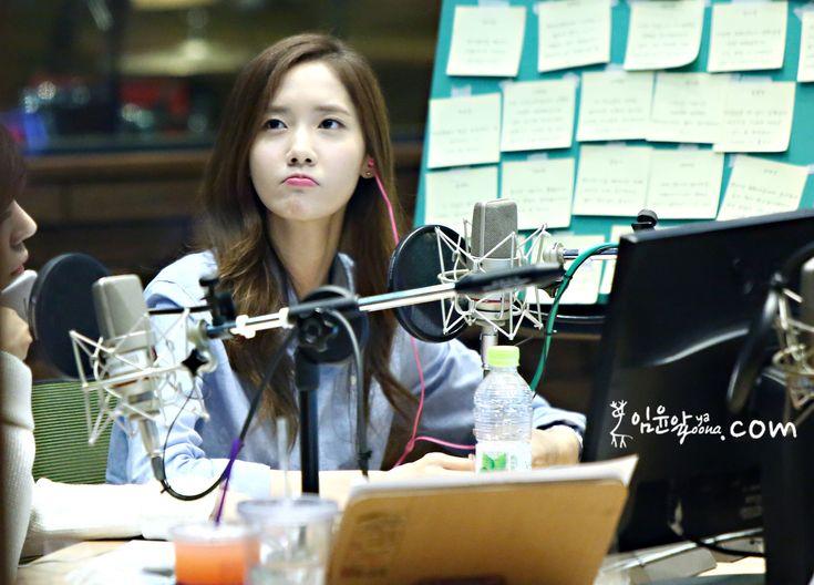 sunny radio, pout,yoona,cute,radio