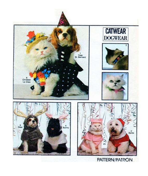 SMALL Medium Large DOG Halloween Costumes  by FindCraftyPatterns