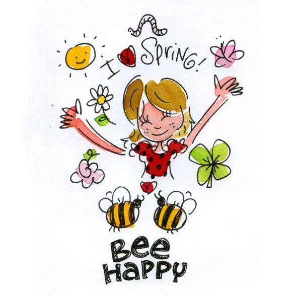 I love spring to