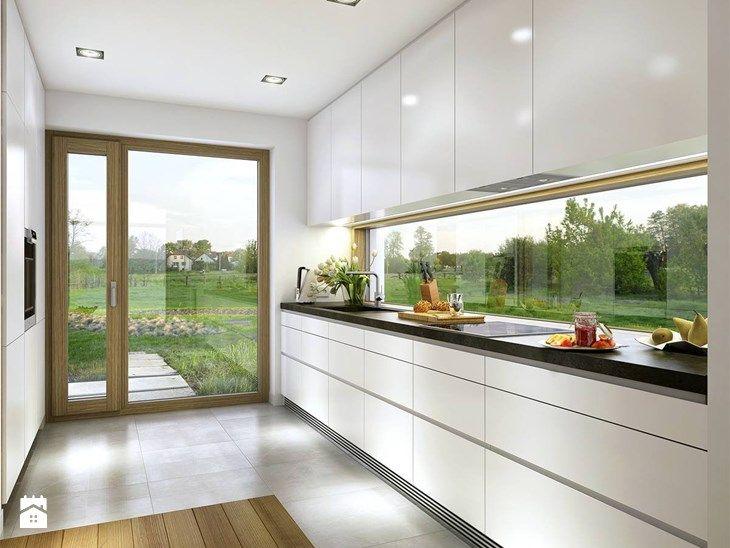 Kuchnia styl Skandynawski - zdjęcie od DOMY Z WIZJĄ - nowoczesne projekty domów