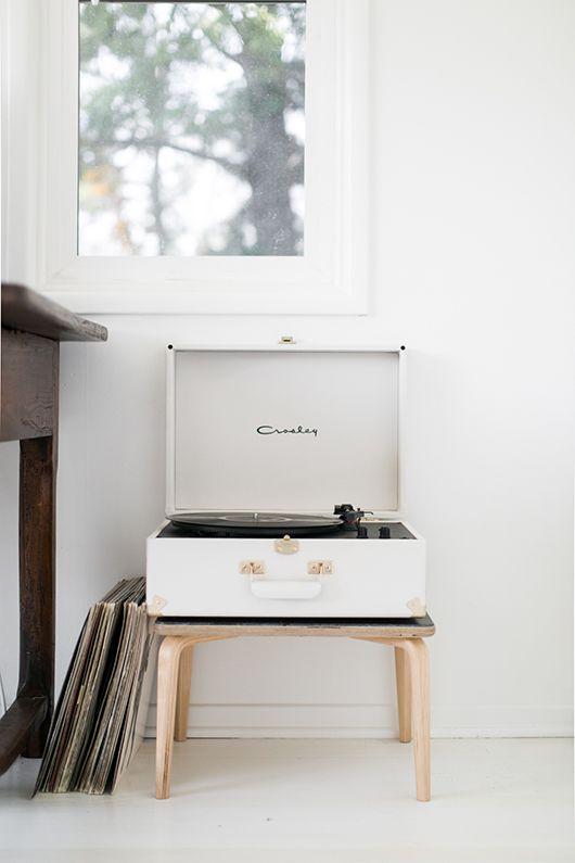 Photo by Lili Glass for @sfgirlbybay | Modernica Fiberglass Demi Table |