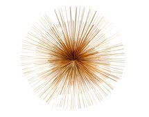 Starburst Wall Decor Gold