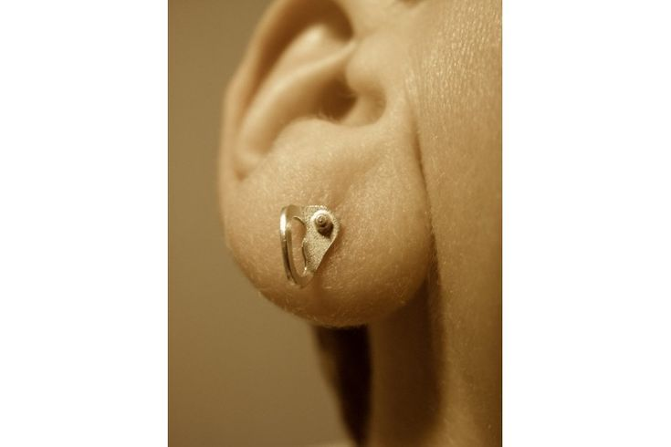 Rock Climbing Earring with Bolt Hanger