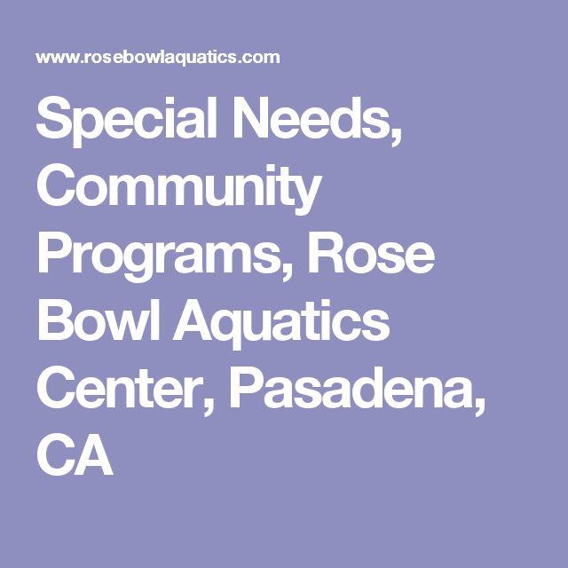 Special Needs, Community Programs, Rose Bowl Aquatics Center, Pasadena, CA