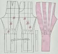 Resultado de imagen para moldes de pantalones arabes