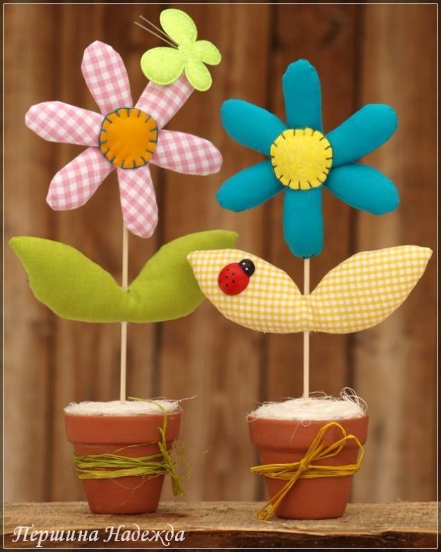 Cucito Creativo: come fare fiori imbottiti in stoffa.