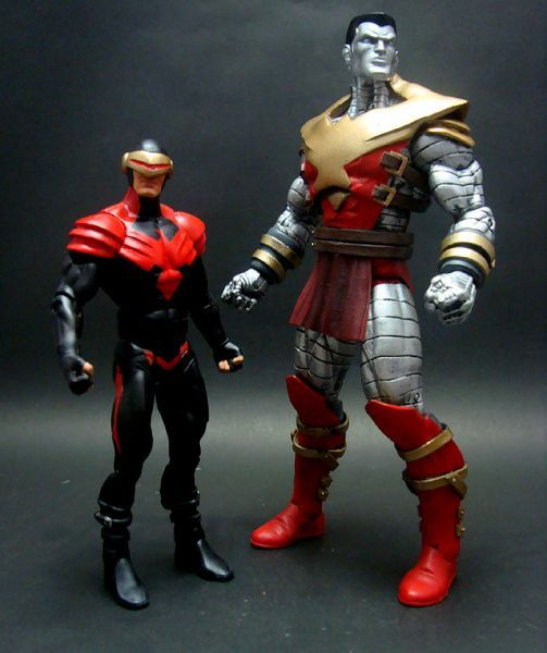 Phoenix Force Colossus Custom Action Figure