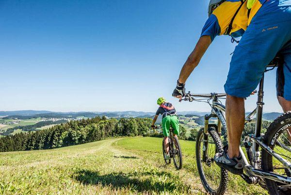 Ein #Mountainbike-#Urlaub wird im #Muehlviertel zu einem unerwartet herausfordernden #Erlebnis. Mehr dazu unter http://www.muehlviertel.at/mountainbiken