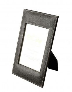 Leather Paper Sleek Frame