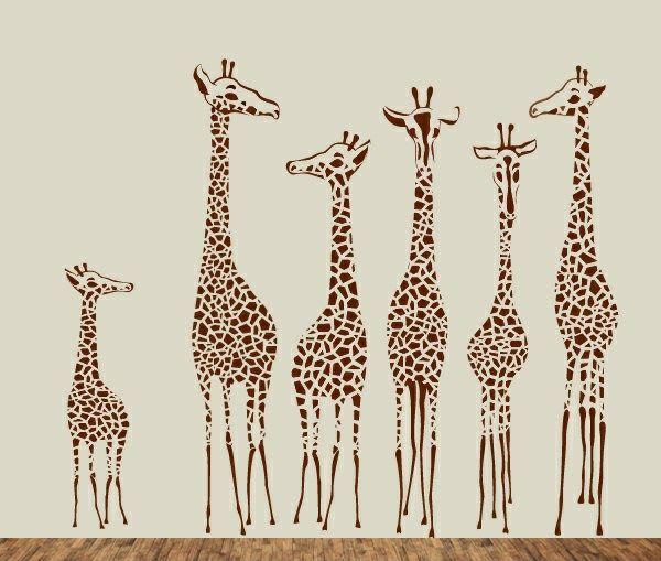 Kinderzimmer wandgestaltung giraffe  15 best Wandgestaltung images on Pinterest | Kinderzimmer ideen ...
