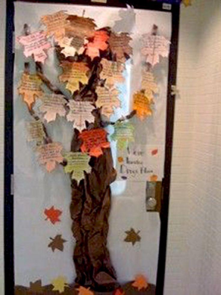 Classroom Decoration Autumn ~ Best fall classroom door ideas on pinterest