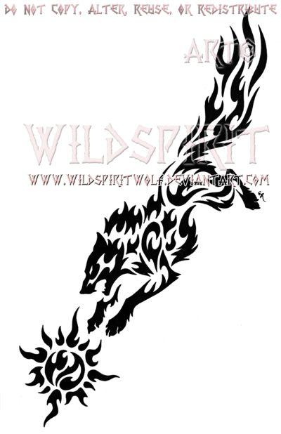 01d2b46e73aeb Ragnarok Skoll And Sun Tribal Set by WildSpiritWolf | misc | Tribal tattoos,  Tribal tattoo designs, Body art tattoos