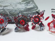 handmade lampwork beads u0026 glass jewelry glasperlen schmuck aus glas
