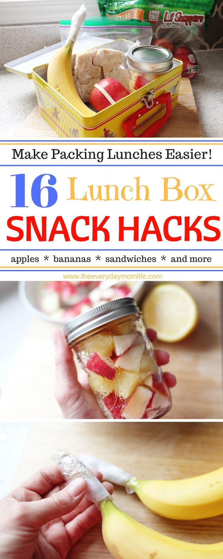 16 Lunch Box Hacks To Make Life Easier