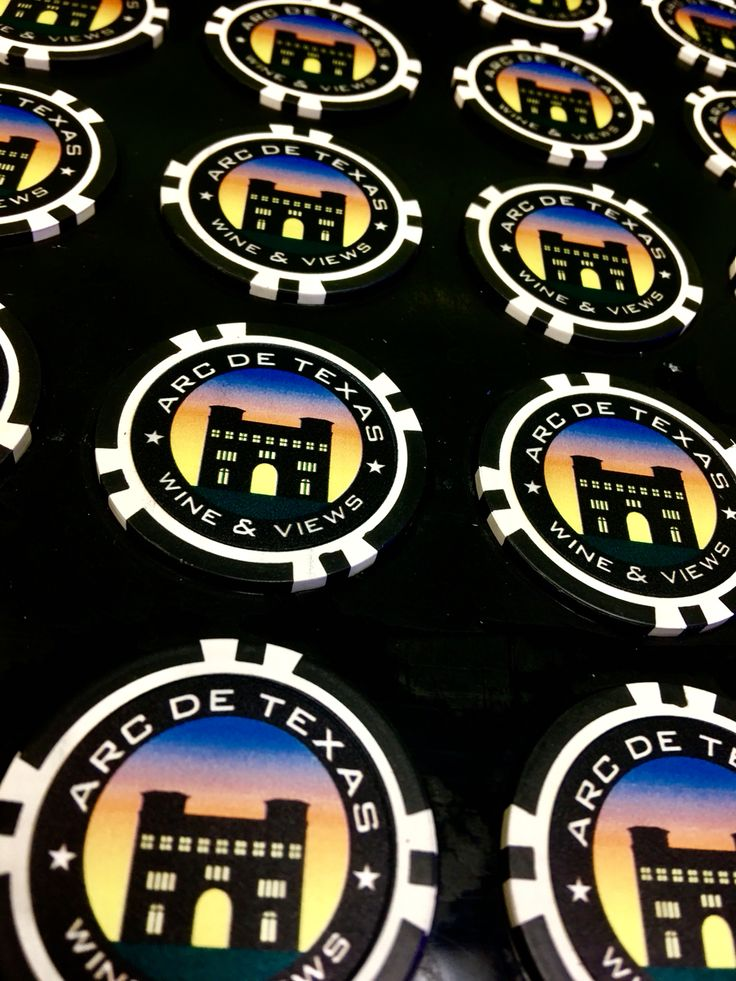 Our 8 stripe direct print custom poker chips @ CustomMadeCasino.com , perfect for branding, marketing and taking your business to the next level. Customize yours today! #poker #custompokerchips #marketing #branding #trump #business #success #custommadecasino