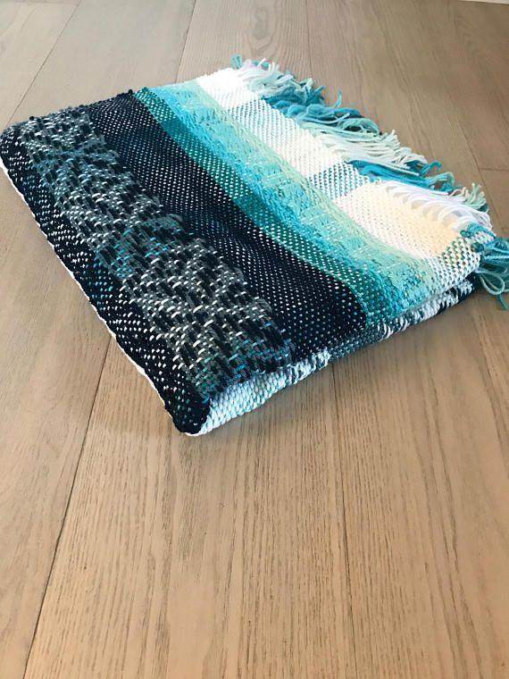 Handwoven Acrylic Blanket No. 6.1