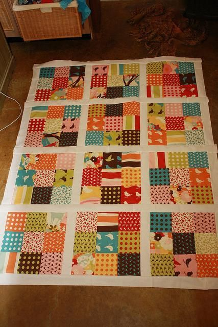 - Charm Quilt Nine Patch