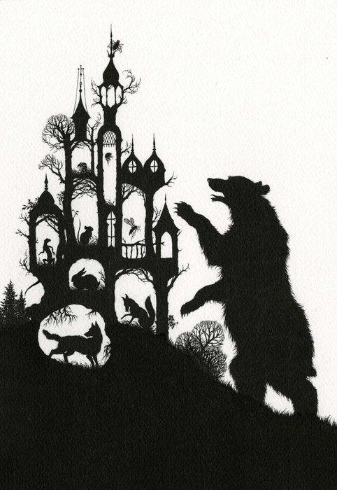 #art #illustration #bear