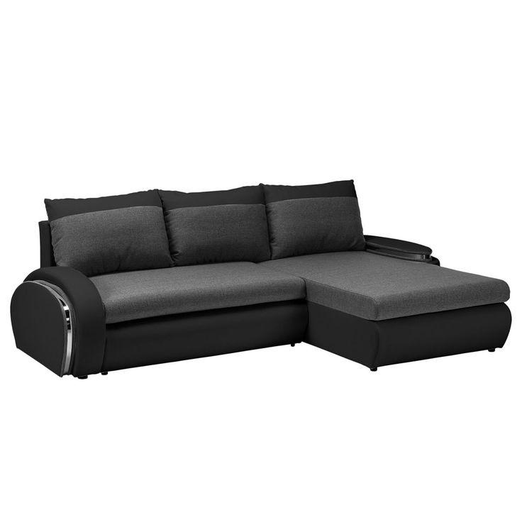 Wohnzimmer sofa schwarz  modernes wohnzimmer mit dunklem sofa einrichten: 55 ideen ...