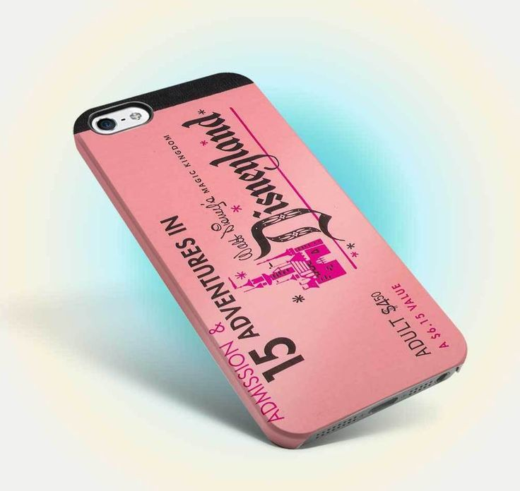 disneyland ticket vintage design iphone case apple 6 6s old oldies family 08 #UnbrandedGeneric