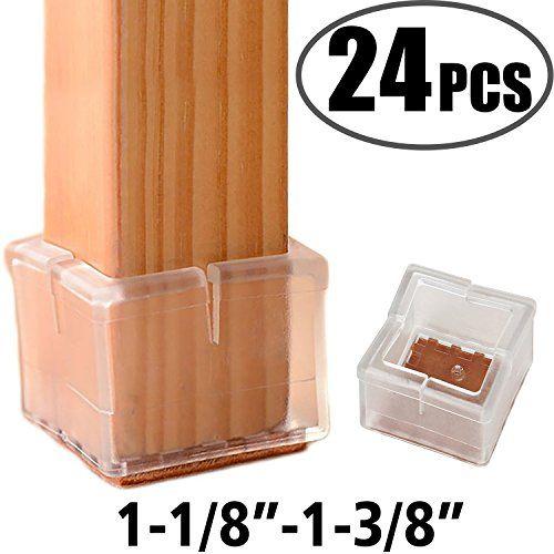 Anwenk Chair Leg Floor Protectors Silicone Chair Leg Protectors Leg Caps Furniture Protectors Table Chair Feet Protectors Best Chair L Home Repairs Repair Pcs