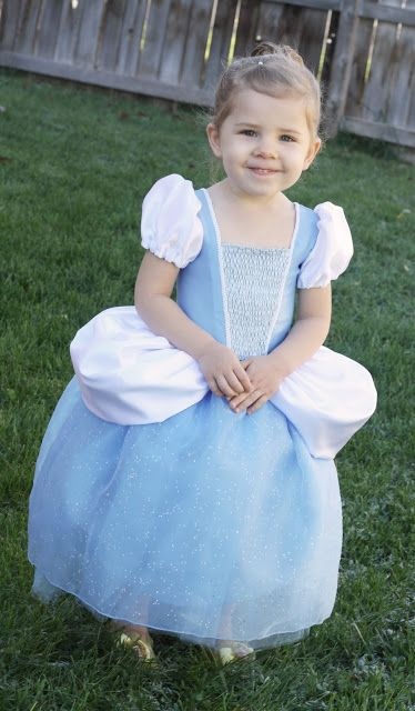 Free Cinderella Dress Pattern and Tutorial