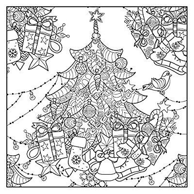 Christmas Traditions Color Your Way To Calm With Music