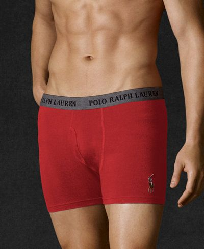 Polo Ralph Lauren Men's Cotton Stretch Boxer Briefs