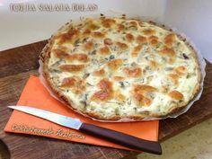 Torta salata Dukan con funghi ricetta light