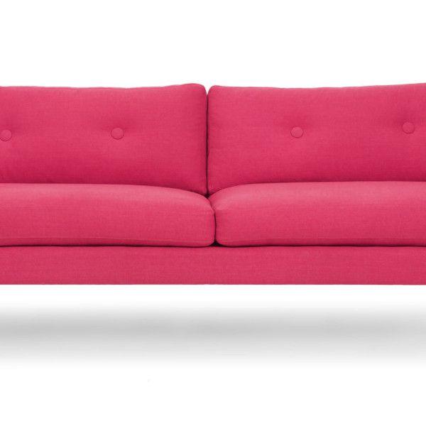 Диван Хадсон L, розовый - Roomble.com