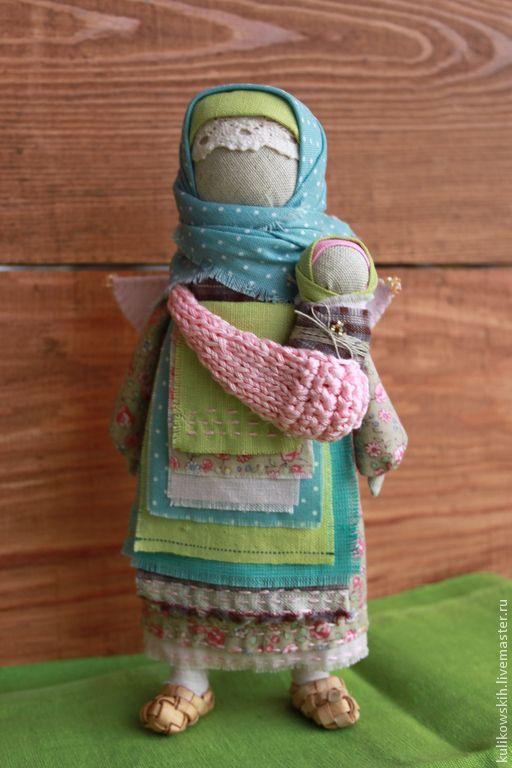 """Купить Кукла """"В добрых руках.."""" - бледно-розовый, ангел, ангел-хранитель, Крестины"""