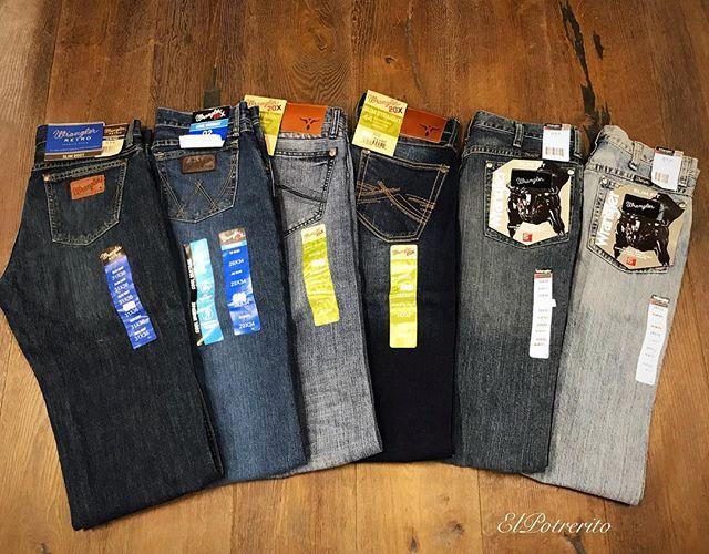 Nuevos Pantalones Wrangler Deslavados Aqui En Tu Tienda Elpotrerito Pantalones Sombreros Y Gorras Ropa