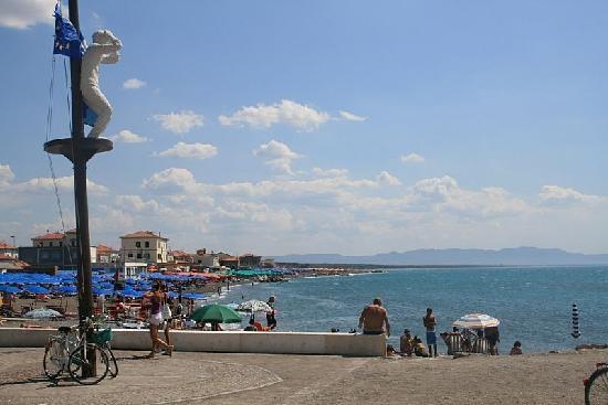 Marina di Cecina, Italy: Beach View