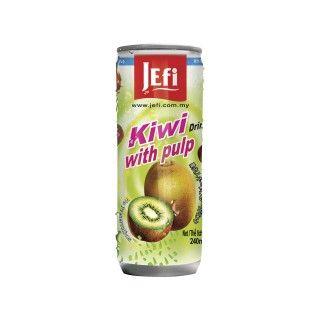 Drinks #kiwi met #vruchtvlees  #Jefi staat bekend om zijn uiterst populaire tropische sappen die voorzien zijn van een fris exotisch aroma en een buitengewone sappigheid. Jefi sappen zijn zeer rijk aan vitaminen, hebben een pure sapsmaak en bevatten geen conserveringsmiddelen. https://www.asianfoodlovers.nl/producten/drankjes/drinks-kiwi-met-vruchtvlees-240-ml