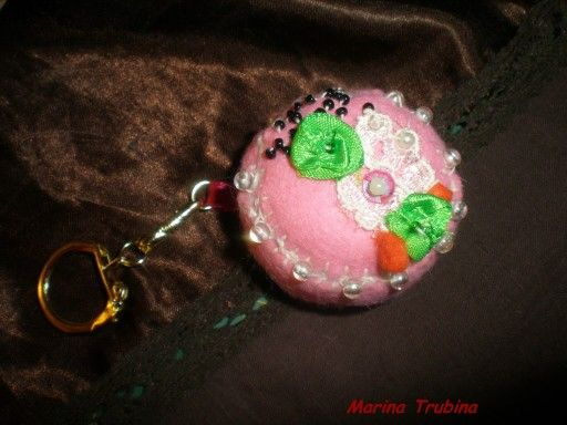 Тортик брелок
