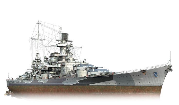 Scharnhorst - World of Warships