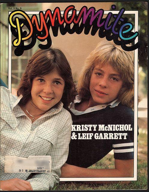 Dynamite Magazine : Kristy McNichol : Leif Garrett 3-in-1 special