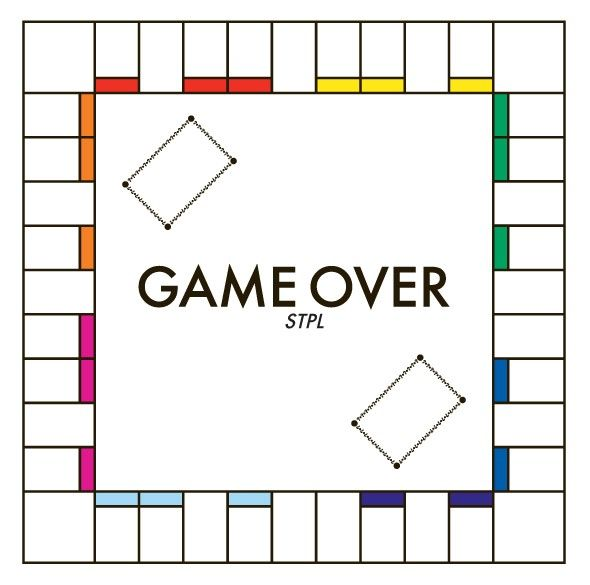 Un plateau du jeu de société Monopoly sans aucune inscriptions.