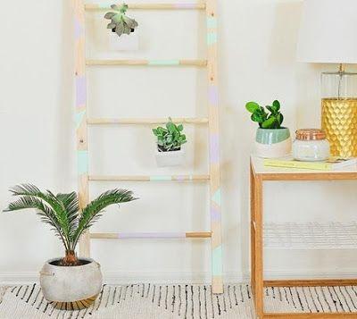 НАША СТРАНА МАСТЕРОВ: Как сделать декоративную лестницу для подвесных цв...