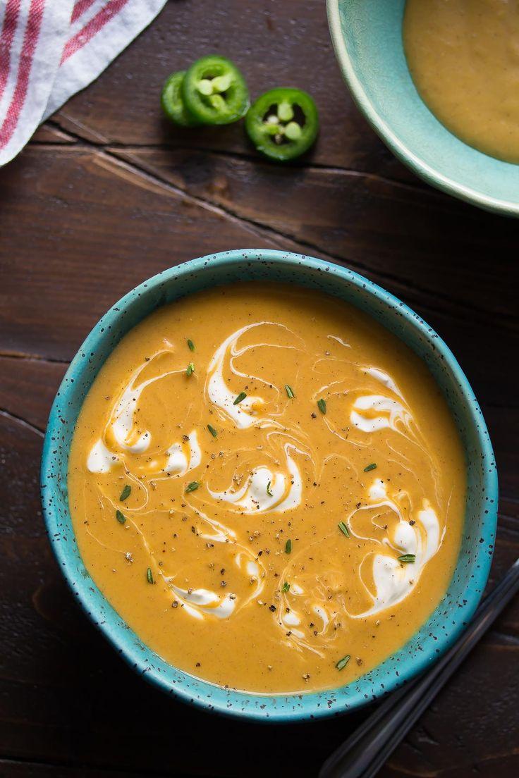 Caribbean Sweet Potato Soup-2