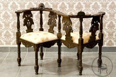 Старинная скамейка EM247