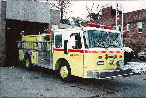 https://flic.kr/p/69HErP | 1990 Newark Fire Dept Engine 6 E-ONE NJ | 1990 Newark Fire Dept Mt Prospect Ave Engine 6 E-ONE. NJ. Photo by Tony Greco