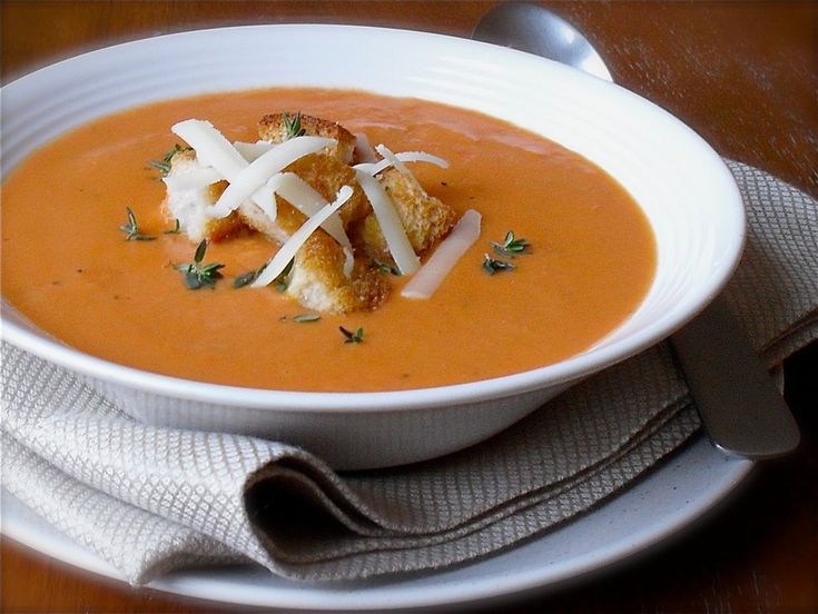 Looking for a hearty alternative to canned tomato soup? This tomato cheddar soup recipe from Cabot will have you craving seconds - try it today!