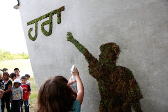 """How to Make Moss Graffiti - The Step by Step """"Grow"""" Guide"""