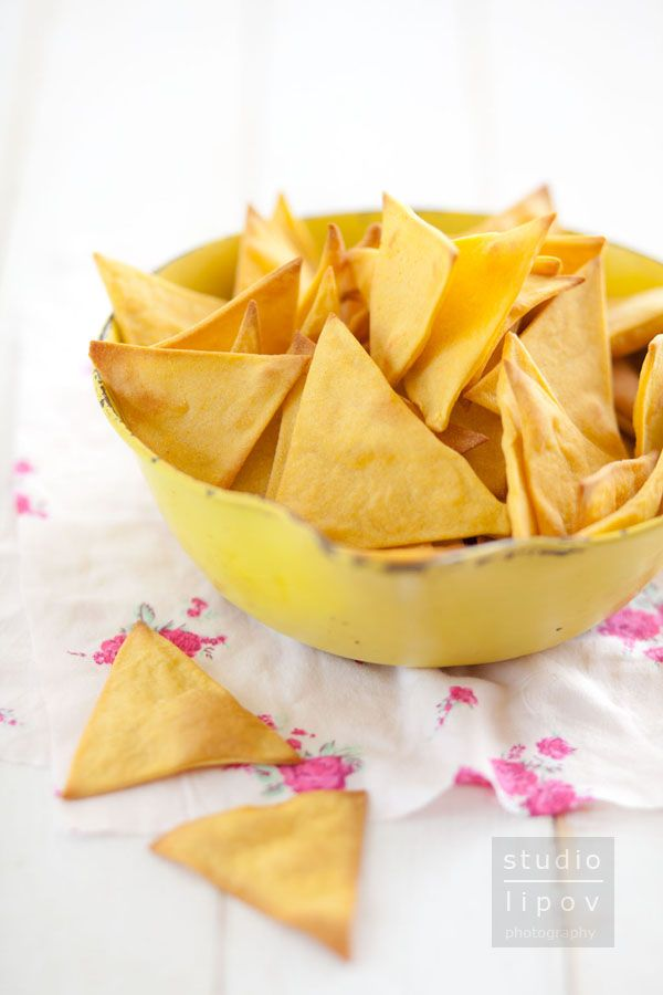 Tortilla chips. Domowe chipsy kukurydziane